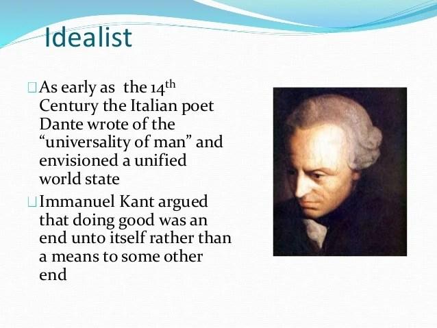 Realism idealism vs pragmatism machiavelli prince