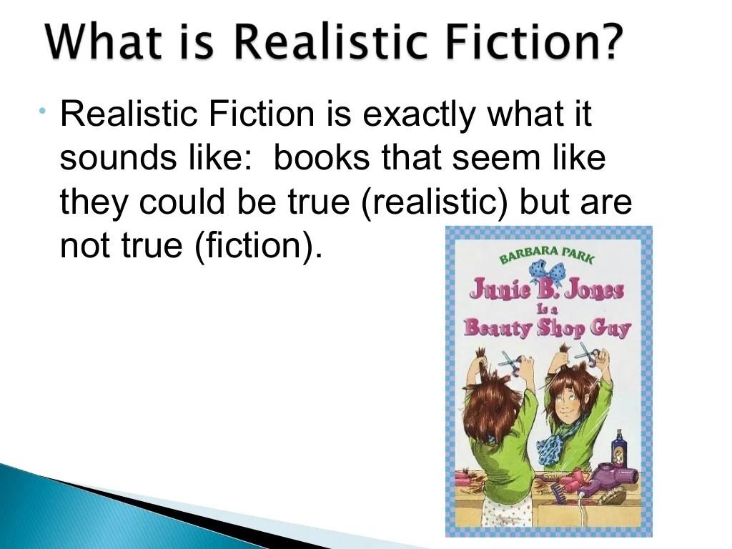 Realistic Fiction Genre