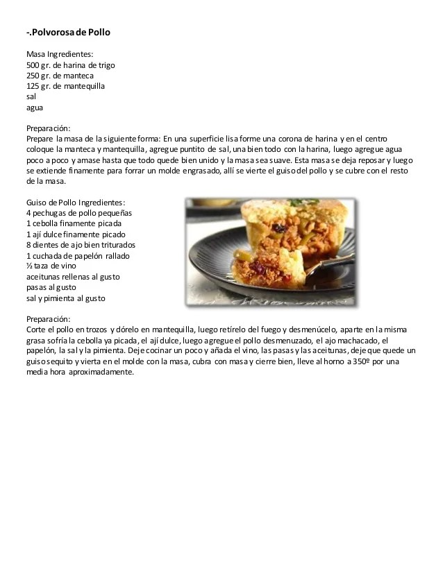 Recetas cocina venezolana