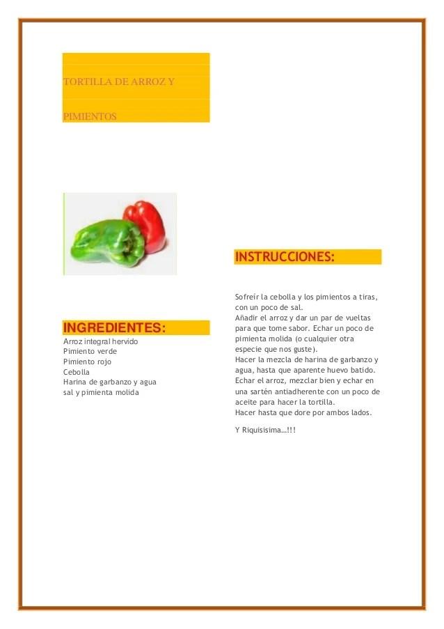 Recetas de cocina light