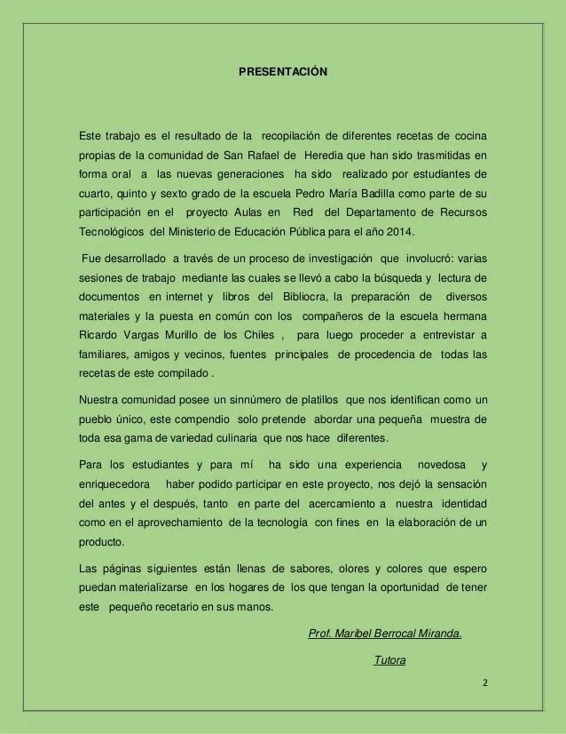 Recetas pdf