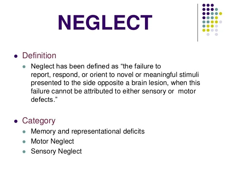 neglect definition Gallery