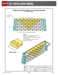 Block Retaining Wall Design Manual. Stunning Gravity Wall ...