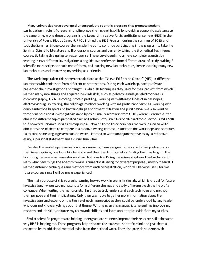 Reflective Essay Docx 2