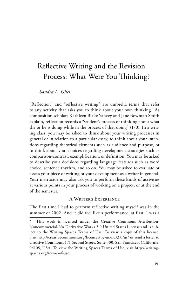Reflective Writing Research Papers College Paper Academic Service