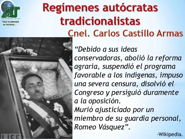 Regimenes autocratas tradicionalistas y sistemas mixtos