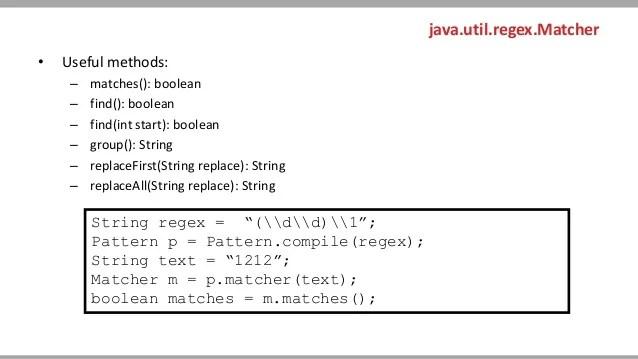 Java Regex Pattern Example Matcher - linksbertyl