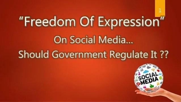Regulation on social media in india