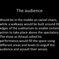 Swivel Chair Quotes Covers For Folding Chairs Near Me Rehearsing Artaud 17