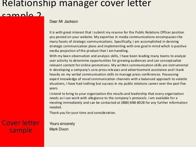 public relations manager cover letter - Tosya.magdalene ...