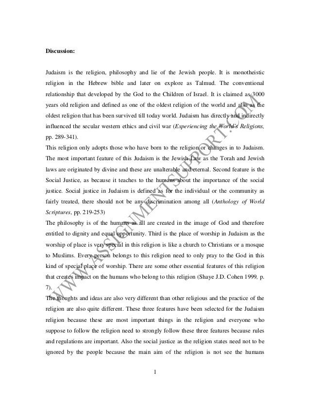 Religion essay essay sample from assignmentsupportcom essay writing