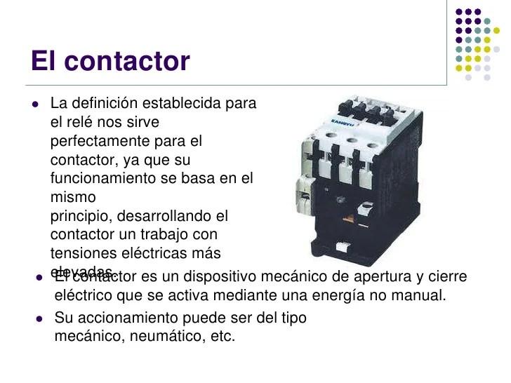 Que Es Un Contactor Como Funcionan Los Contactores Cute766