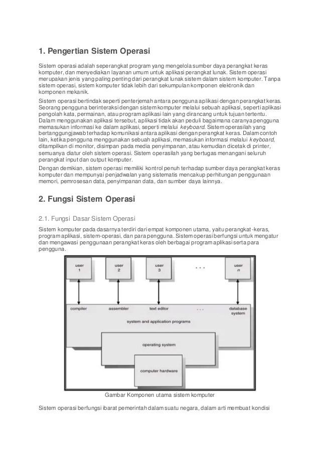 Komponen Utama Sistem Operasi : komponen, utama, sistem, operasi, Remedial