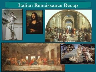 Renaissance vs medieval art lesson ppt