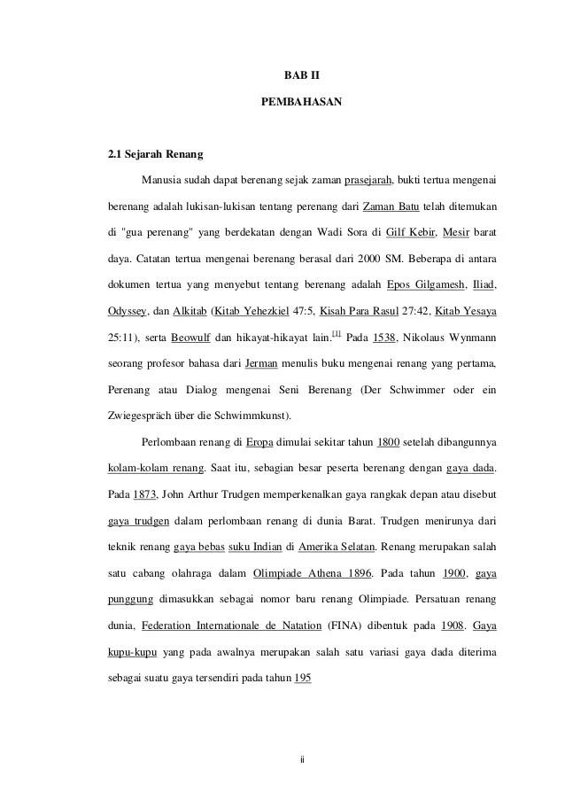 Sejarah Renang Indonesia : sejarah, renang, indonesia, Renang