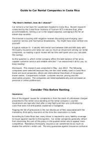 Rental car-comparisons-for-costa-rica-2013