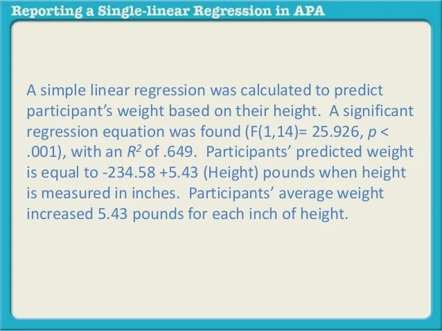Reporting A Single Linear Regression In Apa 43 638 ?cb=1412267822