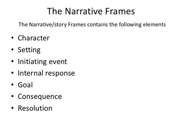narrative frames | Framess.co