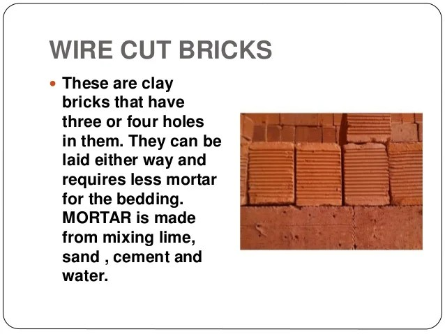 Report On A Building Material Bricks