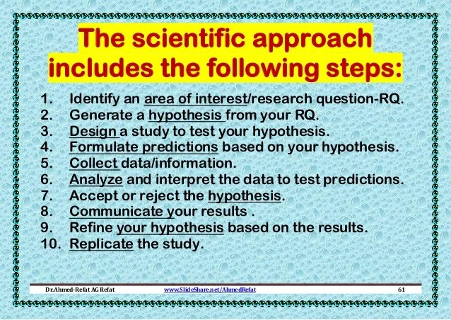 Research Methods Basic Concepts And Methods