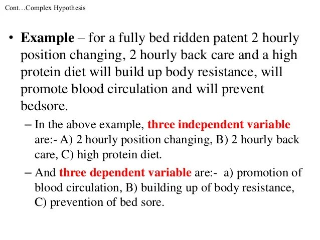 Example Of Research Hypothesis Reportd24 Web Fc2 Com