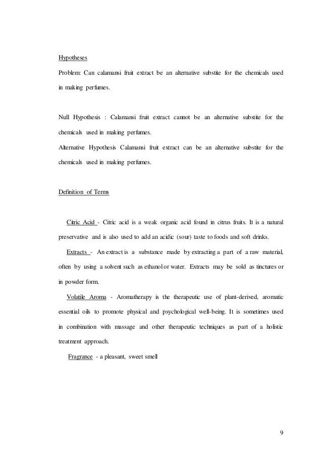 Research Paper Calamansi Citrofortunella Microcarpa Fruit Extract