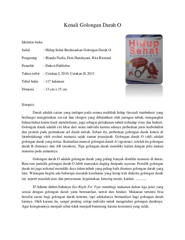 11+ Contoh Resensi Buku Non Fiksi, Ilmu Pengetahuan... - EvanAzka