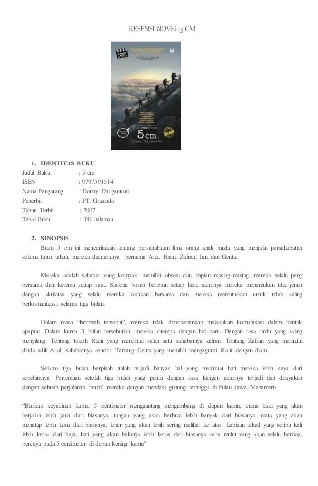 Contoh Resensi Novel Laskar Pelangi Singkat Kumpulan Contoh Makalah Doc Lengkap Cute766