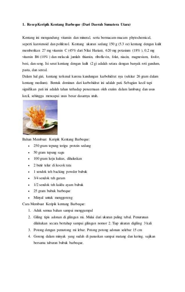 Resep Umbi Umbian : resep, umbian, Resep, Makanan, Serelia