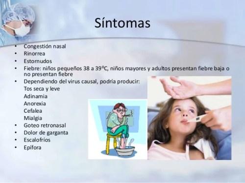 Síntomas de congestión nasal