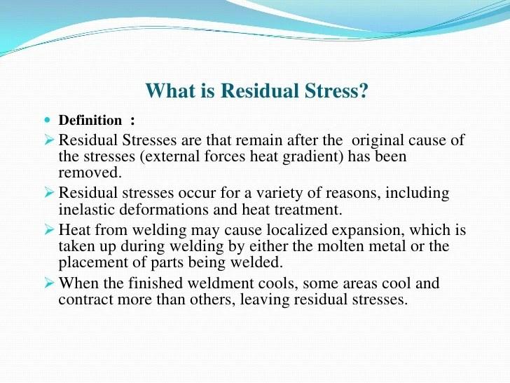 Residual Stress Analysis By High Energy Synchrotron ...
