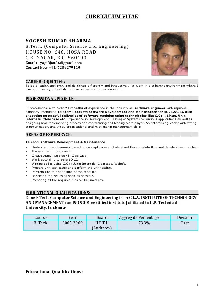 android developer fresher resume format  best resume examples