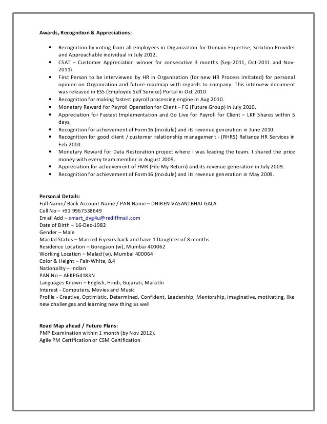 Awards In Resume Examples Examples Of Resumes - Awards on resume