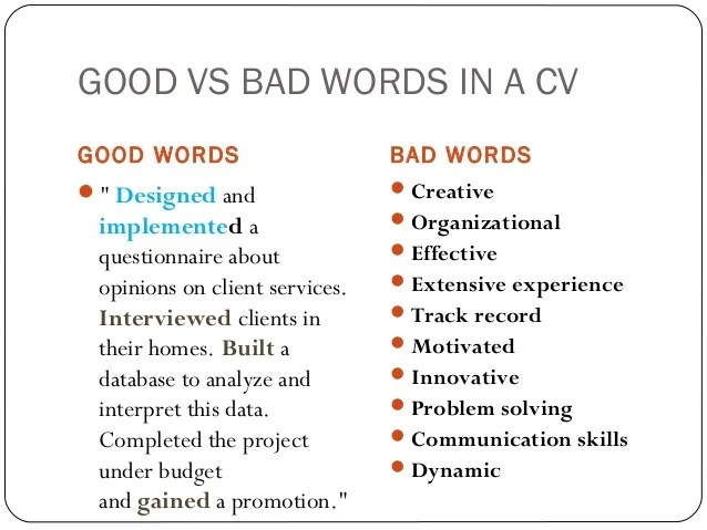 awesome good vs bad resume pictures simple resume office