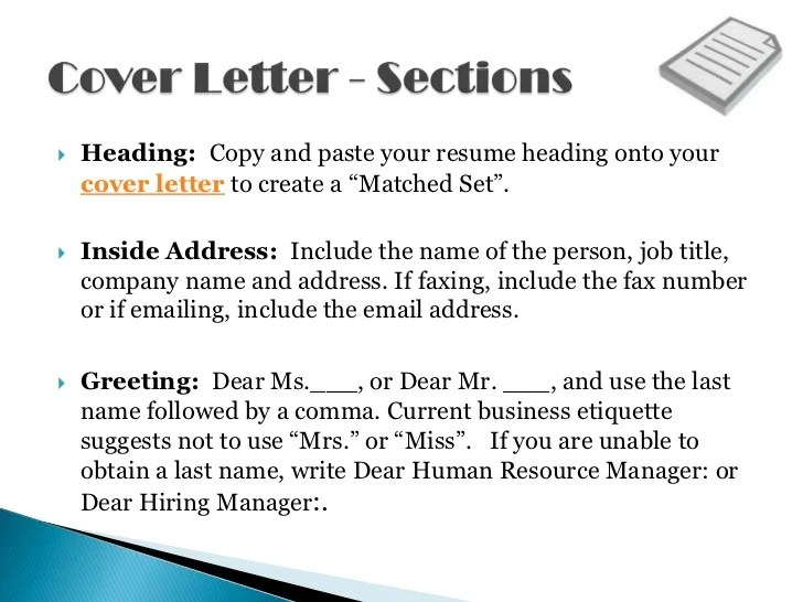 What To Name Your Resume And Cover Letter Popsugar Career In