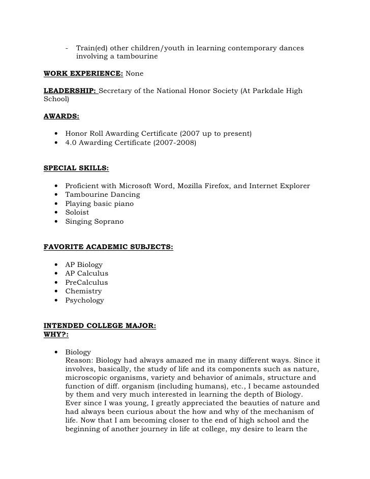 awesome national honor society resume example contemporary