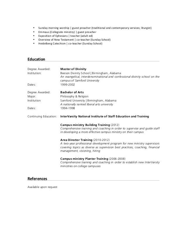Sunday School Teacher Resume | Waiter Resume Examples For Letters ...