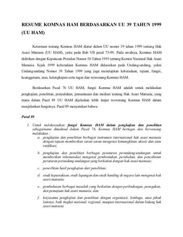 6 Tugas dan Fungsi Komnas HAM di Indonesia - GuruPPKN.com