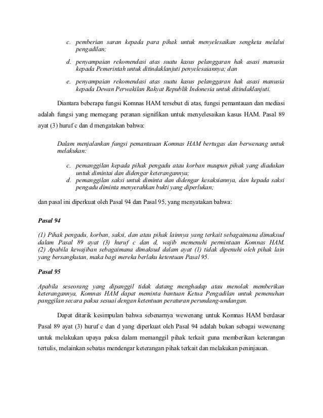 Fungsi Dan Wewenang Komnas Ham : fungsi, wewenang, komnas, Sebutkan, Fungsi, Wewenang, Komnas, Mendetail