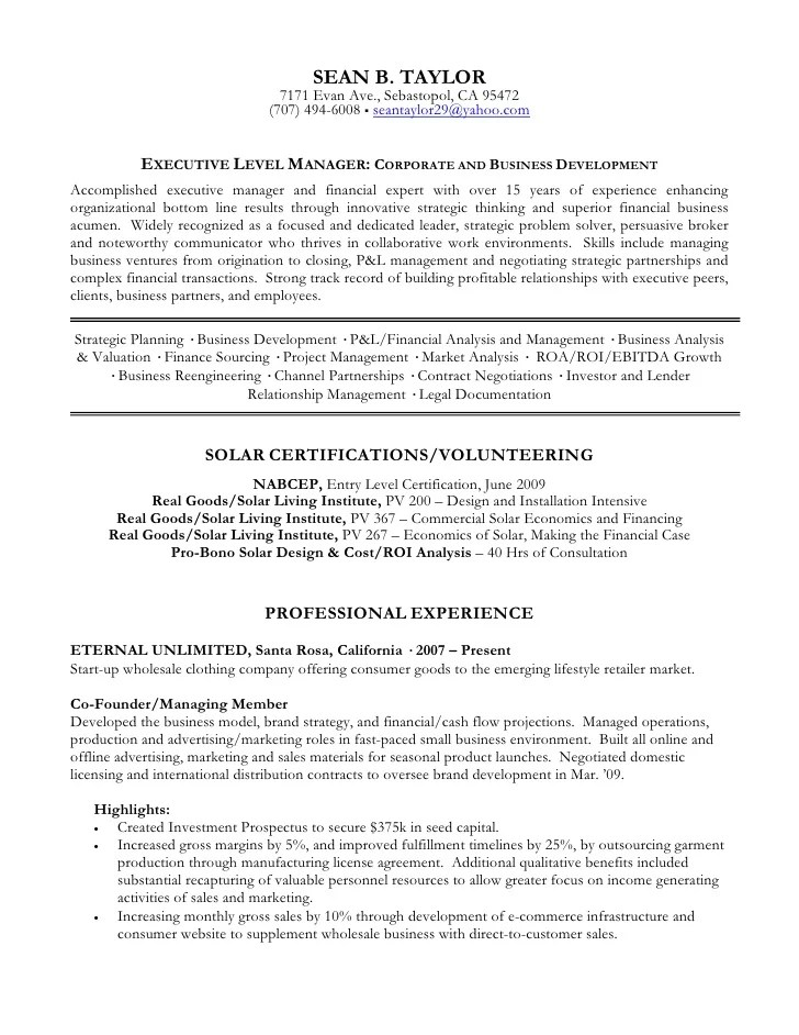 Property Manager Resume Example There Are Several Parts To Write