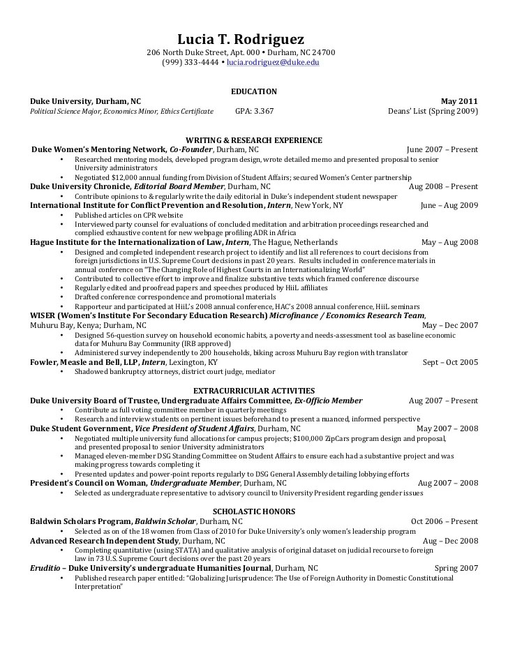 Senior Resume Writing & Research