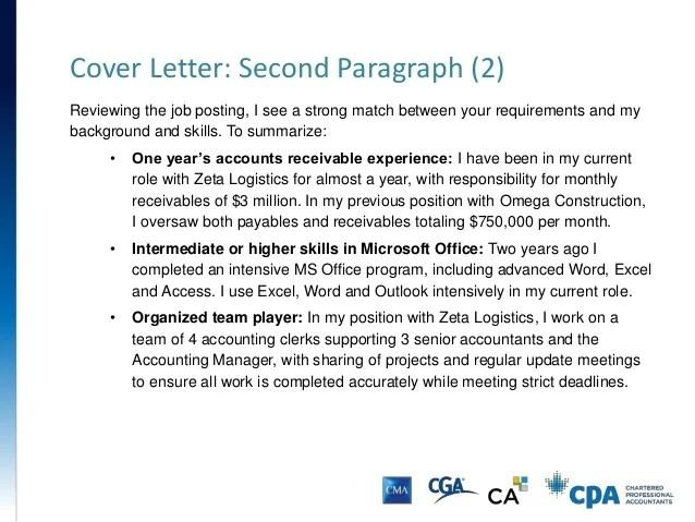 Accounts Receivable Coordinator Cover Letter