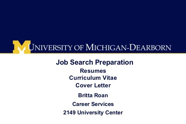 Job Search Cover Letter