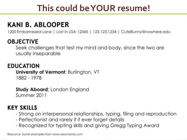 How To Put Together A Resume And Cover Letter