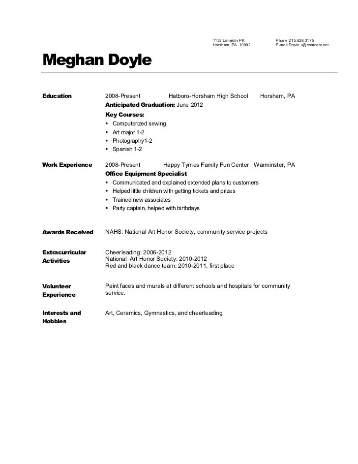 Resume sample 908 pathways mine