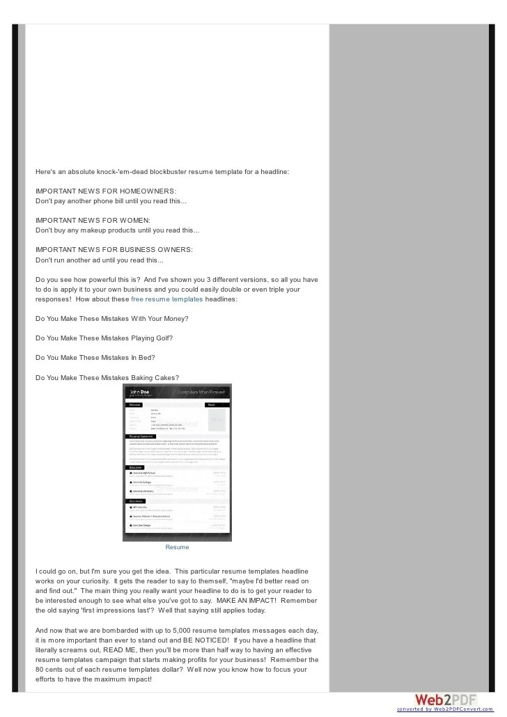 share latext resume templates