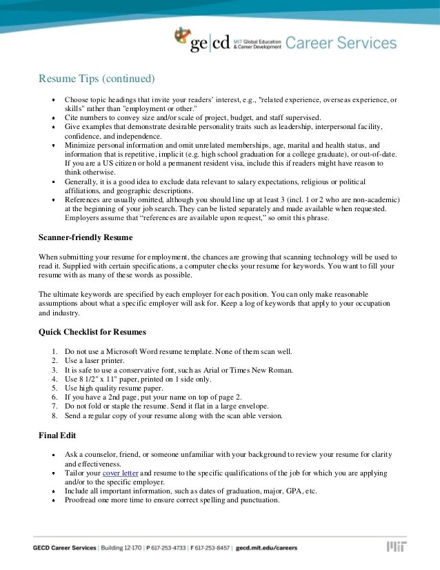 How To Spell Resume In A Cover Letter