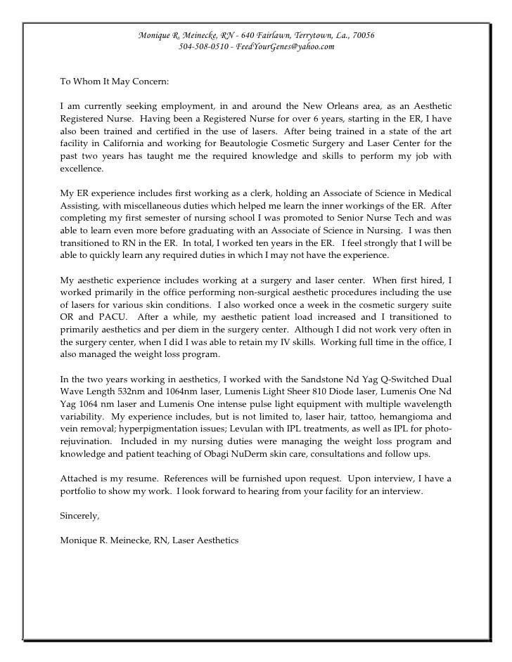 Resume W Cover Letter Aesthetics New Orleans