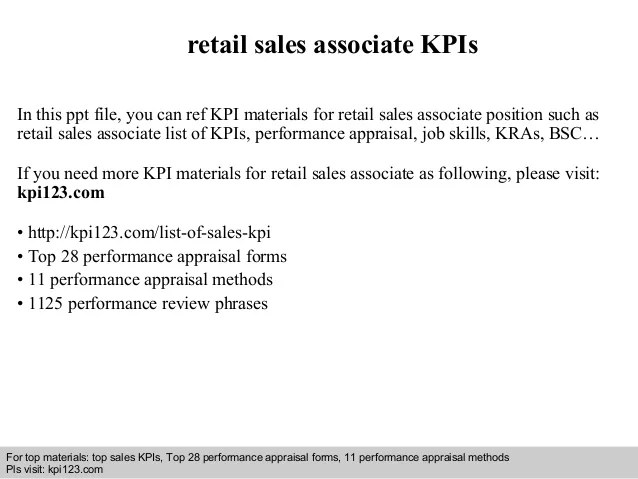 Retail Sales Associate Interview Questions - Resume Examples