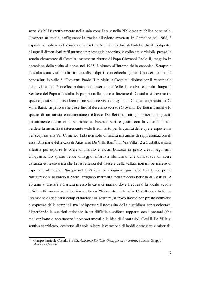 Val Comelico Patrimonio Culturale Naturalistico e Artistico  Marta